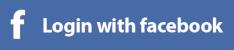 Facebook login button