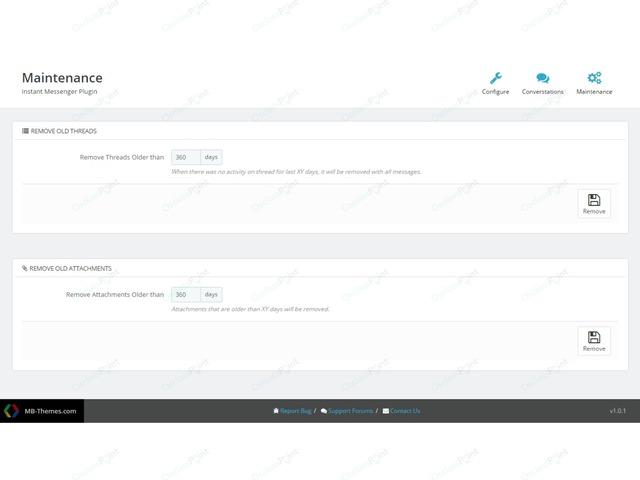 OsclassPoint.com - Instant Messenger Plugin