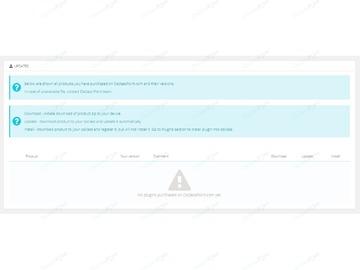 OsclassPoint Updater Free Plugin - Backoffice - Osclass plugins