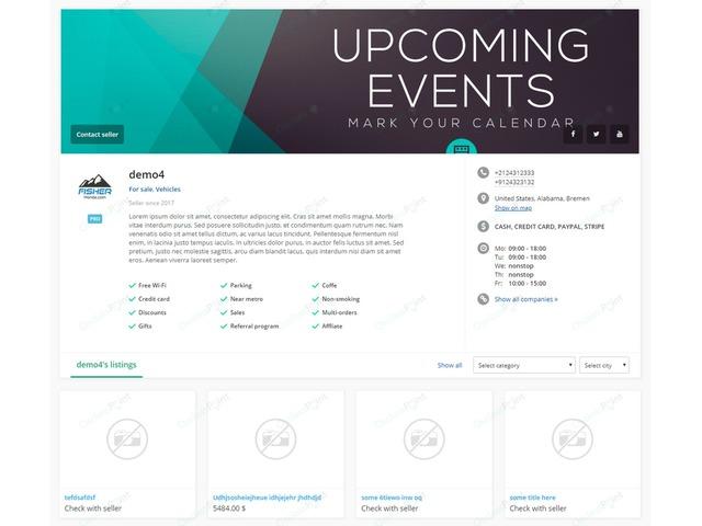 Business Profile Osclass Plugin - Osclass plugins - OsclassPoint.com