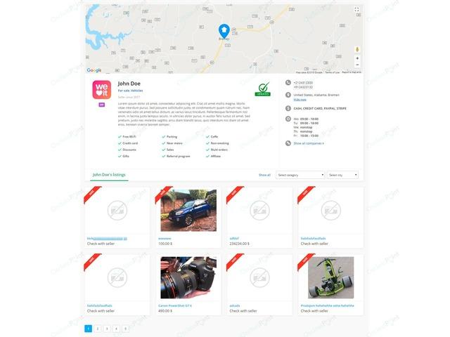 OsclassPoint.com - Business Profile Osclass Plugin